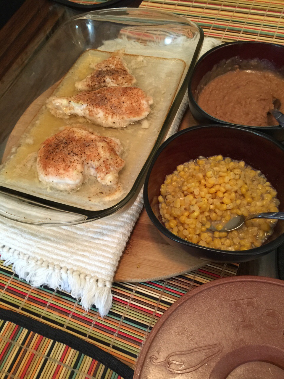Spicy Beer Baked Chicken
