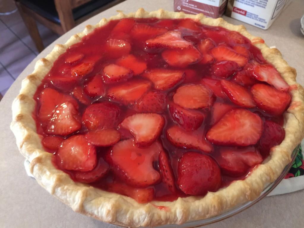 Strawberry Pie – Diabetic Friendly