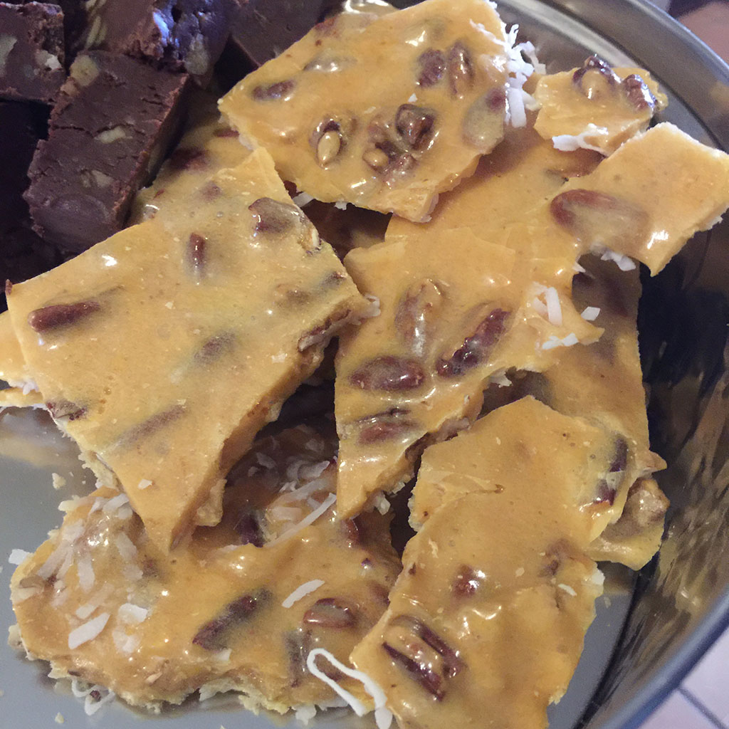 Coconut Brittle